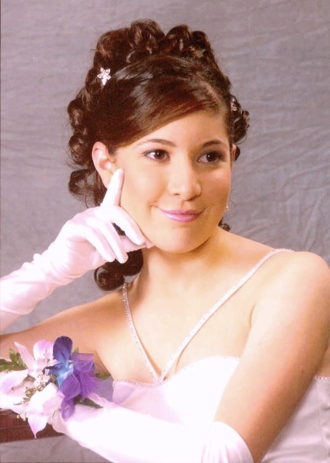 Classical Formal Hair and Makeup